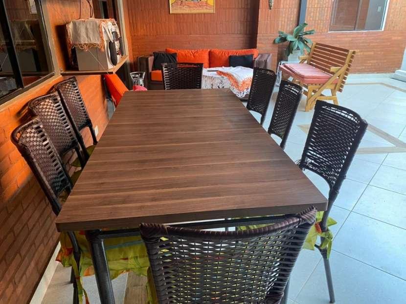 Juego de comedor para 8 personas - Interior/Exterior - 1